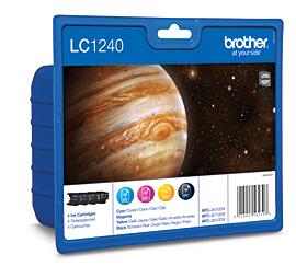 Label Brother LC-1240VALBP inktcartridge