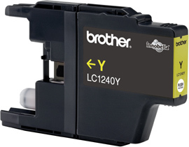 BROTHER LC-1240 Tinte gelb hohe Kapazit�t 600 Seiten 1er-Pack