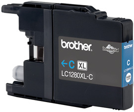 BROTHER LC-1280 Tinte cyan Extra hohe Kapazität 1.200 Seiten 1er-Pack