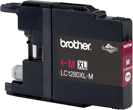 BROTHER LC-1280 Tinte magenta Extra hohe Kapazität 1.200 Seiten 1er-Pack