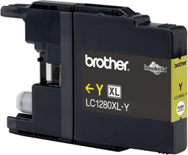 BROTHER LC-1280 Tinte gelb Extra hohe Kapazität 1.200 Seiten 1er-Pack
