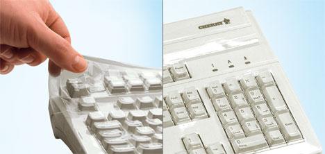 CHERRY WetEx protective film G83-6104 104 Keys Tastatur Schutzfolie