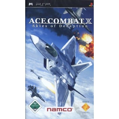 PSP, Ace Combat X, Skies of Deception (Essentials)