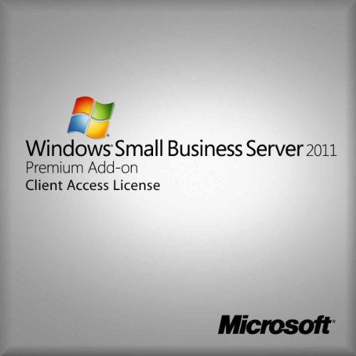 Microsoft OEM Windows Small Business Server Premiun CAL St 2011 64Bit Italian 1pk DSP OEI 1 Clt User CAL