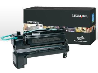 LEXMARK C792 Toner schwarz Standardkapazit�t 20.000 Seiten 1er-Pack
