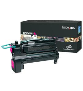 LEXMARK C792 Toner magenta Standardkapazit�t 20.000 Seiten 1er-Pack