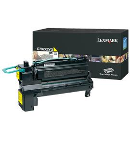 LEXMARK C792 Toner gelb Standardkapazität 20.000 Seiten 1er-Pack