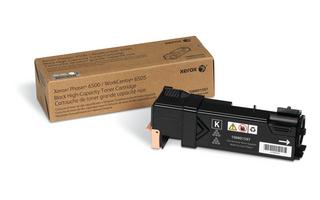 Laser Toner Xerox Phaser 6500/WorkCentre 6505, Grote capaciteit tonercartridge, zwart (3.000 pagina's)