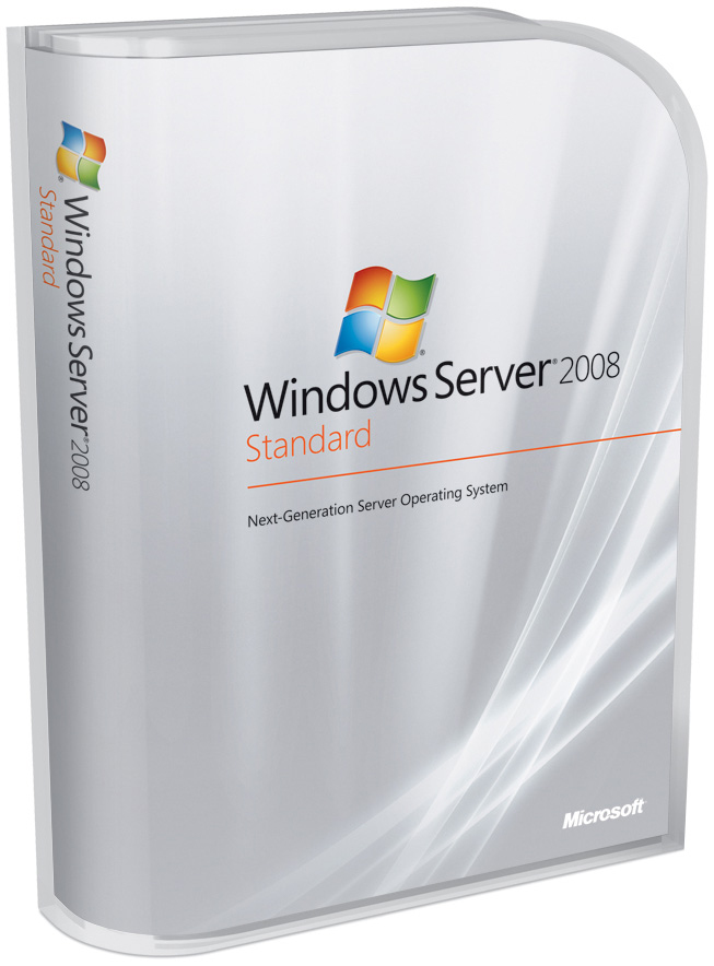 Microsoft OEM Windows Server Standard 2008 R2 w/SP1 x64 Italian 1pk   DVD 1-4CPU 5 Clt