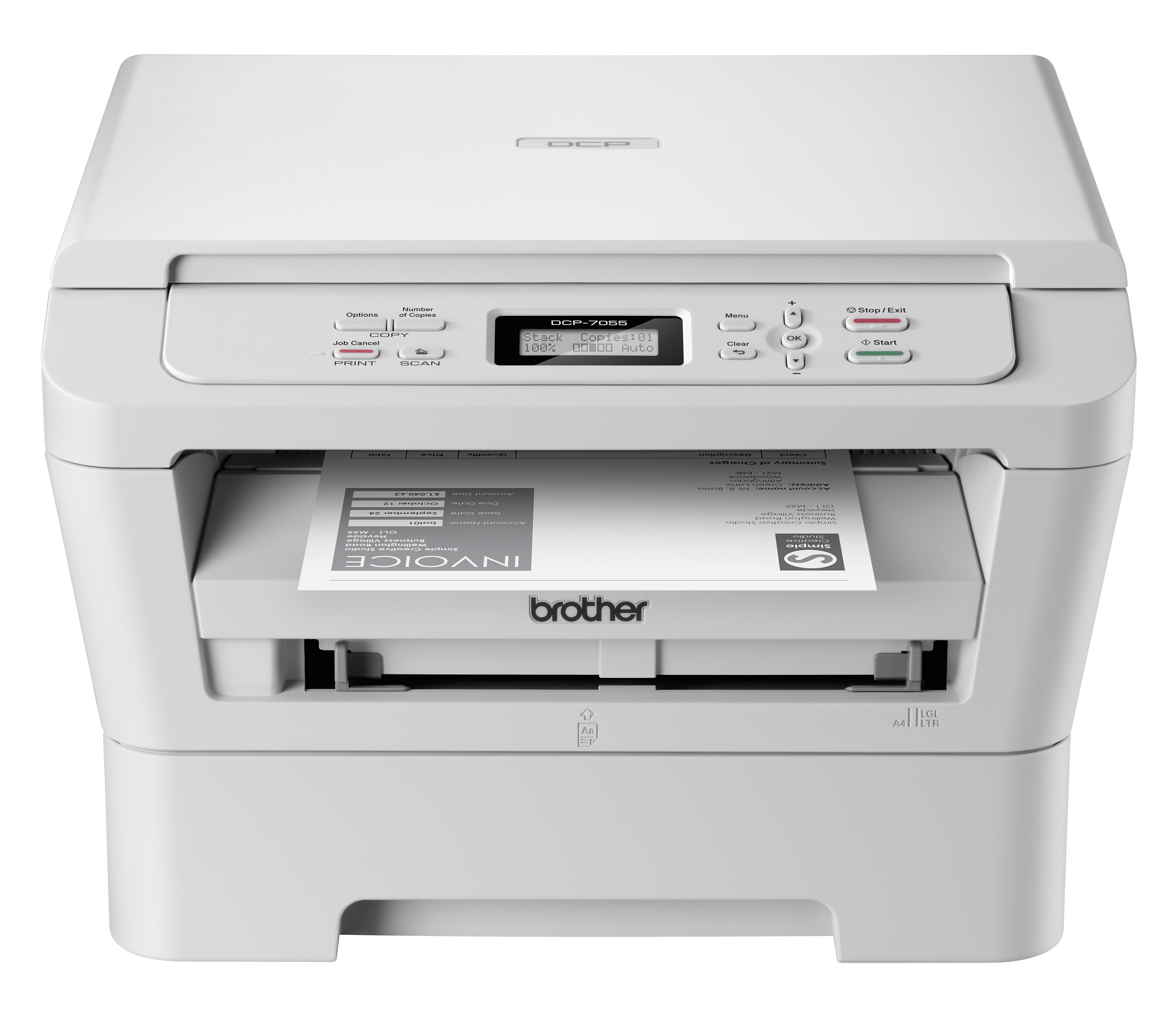Brother DCP-7055 Multifunction Mono Laser Printer