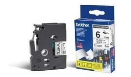 BROTHER P-Touch TZE-S211 schwarz auf weiss 6mm extra gluey
