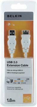 Belkin F3U153CP1.8MWHT USB-kabel