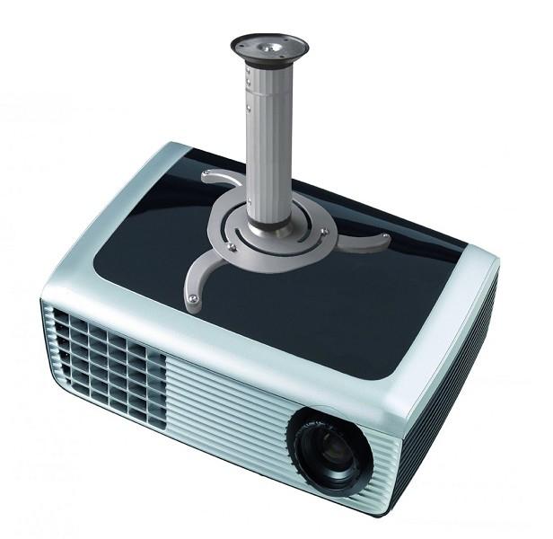 NEWSTAR BEAMER-C80 Deckenhalterung universelle Halterung fuer Beamer und Projektoren Einstellbare Hoehe  8 cm bis 15 cm