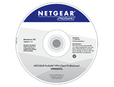 NETGEAR VPN Client 5 User-Lizenz - IPsec Encryption - Win 7 kompatibel