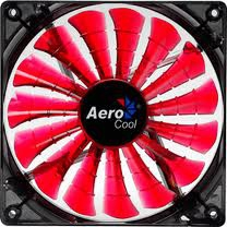 Aerocool Shark Devil Red Edition LED L�fter - 120mm
