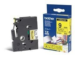 BROTHER P-Touch TZE-621 schwarz auf gelb 9mm