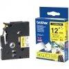 BROTHER P-Touch TZE-FX631 schwarz auf gelb 12mm