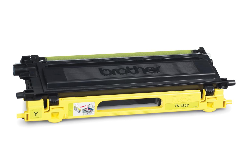 BROTHER TN-135 Toner gelb hohe Kapazit�t 4.000 Seiten 1er-Pack