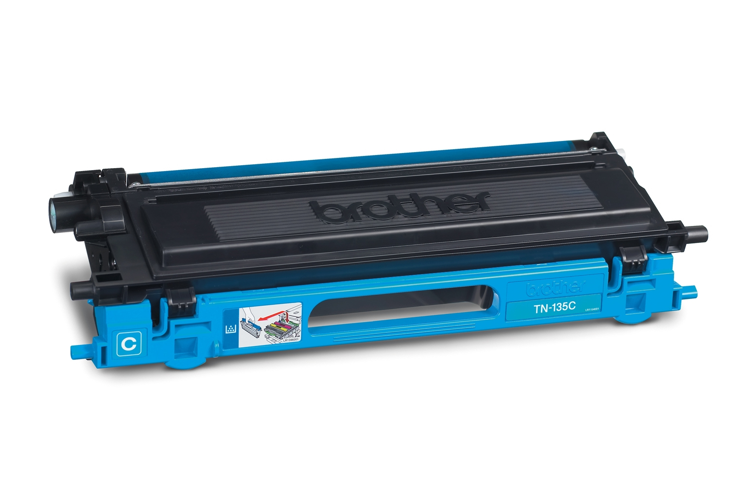 BROTHER TN-135 Toner cyan hohe Kapazit�t 4.000 Seiten 1er-Pack