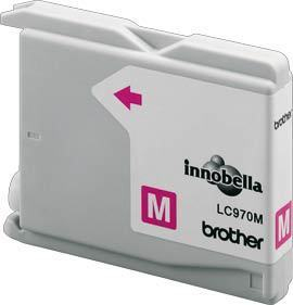 BROTHER LC-970 Tinte magenta Standardkapazit�t 300 Seiten 1er-Pack