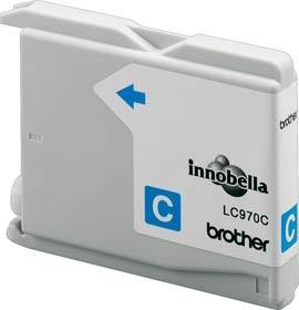 BROTHER LC-970C Tinte cyan 300 Seiten fuer DCP-135C DCP-150C MFC-235C MFC-260C