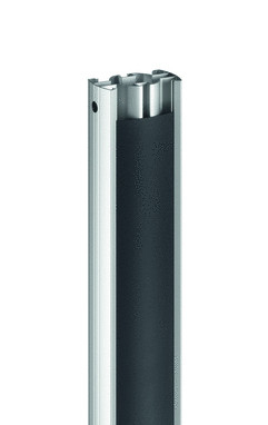 VOGELS PUC 2515 Rohr 150cm max 80Kg silber