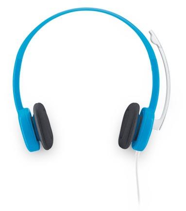 LOGITECH H150 Stereo Headset analoge 3,5mm Klinke blueberry