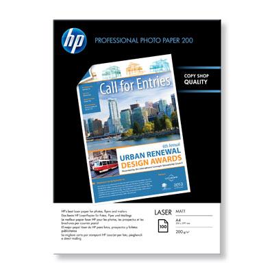 HP Professional Matt Laser Photo Paper-100 sht/A4/210 x 297 mm
