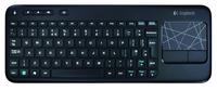 KB Logitech K400 Touch           Zwart draadloos Retail