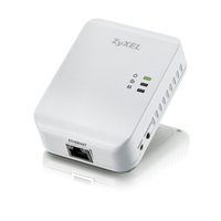 Zyxel Powerline adapter, 1x 10/100/1000, 500 Mbps