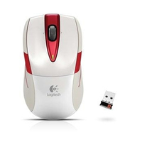 Logitech M525  Optical USB     Wit   Retail Wireless