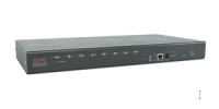 APC 8 Port Multi-Platform Analog KVM 1U KVM switch
