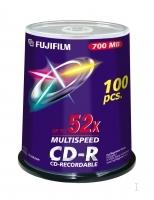 CD-R FUJI 80MIN/700MO PK100 52X SPINDLE