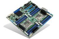Intel DBS2600CP2IOC Intel C602 LGA 2011 (Socket R) SSI EEB server/workstation motherboard