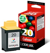 #20 / 15M0120E Color Print Cartridge