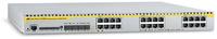 Allied Telesis 24-port 10/100/1000BaseT Managed Layer 3 Switch w/ 4x SFP slots Managed L3 White
