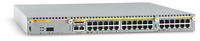 Allied Telesis NEBS-Compliant 10/100/1000T x 24 ports modular Gigabit Ethernet Layer 3 switch Managed network switch L3+ 1U Silv