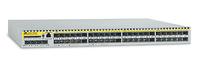 Allied Telesis 48 x FE SFP ports Layer 3 Switch w/ 4x Gigabit uplink ports Managed L3 Silver