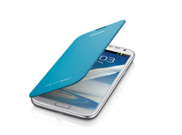 Samsung Flip Cover fuer Galaxy Note 2 N7100 Blue