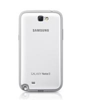Samsung Cover + fuer Galaxy Note 2 N7100 white
