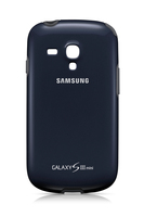 Samsung Cover+, blue fuer I8190 Galaxy SIII mini