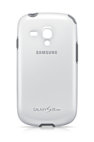Samsung Cover+, white fuer I8190 Galaxy SIII mini