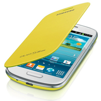 Samsung Galaxy S3 Mini Flip Cover Yellow