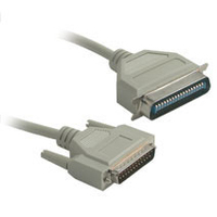 C2G DB25M to C36M Parallel Printer Cable 10ft 3m Beige printer cable