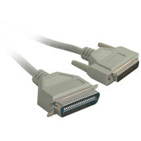 C2G IEEE-1284 DB25M to C36M Parallel Printer Cable 6ft 1.83m Beige printer cable