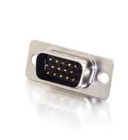 C2G HD-15 Male HD15 Silver wire connector