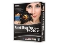 Corel PSPPX2ULDEPCMB Paint Shop Pro Photo X2 Ultimate, CD, Win32, MiniBox, DE  - graphics software