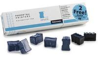 5 Bâtonnets ColorStix Cyan + 2 Noirs gratuits - Phaser 850 pour    XEROX PHASER 840/850/860
