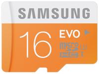 MICRO SD CARD EVO 16GB WITH USB ADAPTER