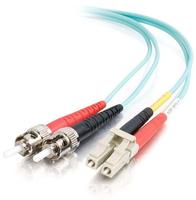 CBL/5M LC/ST 10GB LSZH DPLX 50/125 FBR